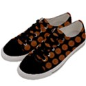 CIRCLES1 BLACK MARBLE & RUSTED METAL (R) Men s Low Top Canvas Sneakers View2
