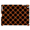 CIRCLES2 BLACK MARBLE & RUSTED METAL Apple iPad 3/4 Hardshell Case (Compatible with Smart Cover) View1