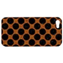 CIRCLES2 BLACK MARBLE & RUSTED METAL Apple iPhone 5 Hardshell Case View1