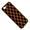 CIRCLES2 BLACK MARBLE & RUSTED METAL Apple iPhone 5 Hardshell Case View5