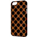 CIRCLES2 BLACK MARBLE & RUSTED METAL Apple iPhone 5 Classic Hardshell Case View3