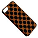 CIRCLES2 BLACK MARBLE & RUSTED METAL Apple iPhone 5 Classic Hardshell Case View5