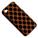 CIRCLES2 BLACK MARBLE & RUSTED METAL Apple iPhone 4/4S Hardshell Case (PC+Silicone) View5