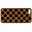 CIRCLES2 BLACK MARBLE & RUSTED METAL Apple iPhone 5 Hardshell Case with Stand View1