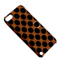 CIRCLES2 BLACK MARBLE & RUSTED METAL Apple iPod Touch 5 Hardshell Case with Stand View5