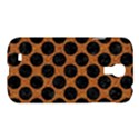 CIRCLES2 BLACK MARBLE & RUSTED METAL Samsung Galaxy S4 I9500/I9505 Hardshell Case View1