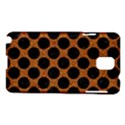 CIRCLES2 BLACK MARBLE & RUSTED METAL Samsung Galaxy Note 3 N9005 Hardshell Case View1