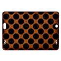 CIRCLES2 BLACK MARBLE & RUSTED METAL Amazon Kindle Fire HD (2013) Hardshell Case View1