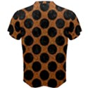 CIRCLES2 BLACK MARBLE & RUSTED METAL Men s Cotton Tee View2