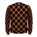 CIRCLES2 BLACK MARBLE & RUSTED METAL Men s Sweatshirt View1