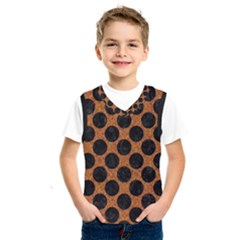 Circles2 Black Marble & Rusted Metal Kids  Sportswear