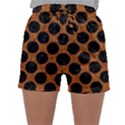CIRCLES2 BLACK MARBLE & RUSTED METAL Sleepwear Shorts View1