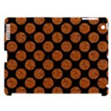 CIRCLES2 BLACK MARBLE & RUSTED METAL (R) Apple iPad 3/4 Hardshell Case (Compatible with Smart Cover) View1