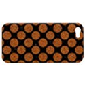 CIRCLES2 BLACK MARBLE & RUSTED METAL (R) Apple iPhone 5 Hardshell Case View1