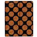 CIRCLES2 BLACK MARBLE & RUSTED METAL (R) Apple iPad Mini Flip Case View1