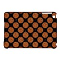 CIRCLES2 BLACK MARBLE & RUSTED METAL (R) Apple iPad Mini Hardshell Case (Compatible with Smart Cover) View1