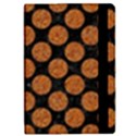 CIRCLES2 BLACK MARBLE & RUSTED METAL (R) iPad Mini 2 Flip Cases View2