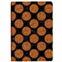 CIRCLES2 BLACK MARBLE & RUSTED METAL (R) Apple iPad Pro 9.7   Flip Case View1
