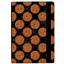 CIRCLES2 BLACK MARBLE & RUSTED METAL (R) Apple iPad Pro 9.7   Flip Case View2