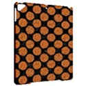 CIRCLES2 BLACK MARBLE & RUSTED METAL (R) Apple iPad Pro 9.7   Hardshell Case View2