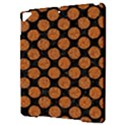 CIRCLES2 BLACK MARBLE & RUSTED METAL (R) Apple iPad Pro 9.7   Hardshell Case View3