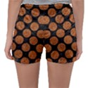 CIRCLES2 BLACK MARBLE & RUSTED METAL (R) Sleepwear Shorts View2