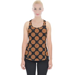 Circles2 Black Marble & Rusted Metal (r) Piece Up Tank Top