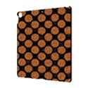 CIRCLES2 BLACK MARBLE & RUSTED METAL (R) Apple iPad Pro 10.5   Hardshell Case View3