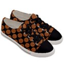 CIRCLES2 BLACK MARBLE & RUSTED METAL (R) Men s Low Top Canvas Sneakers View3