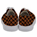 CIRCLES2 BLACK MARBLE & RUSTED METAL (R) Kids  Low Top Canvas Sneakers View4