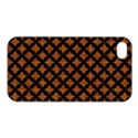 CIRCLES3 BLACK MARBLE & RUSTED METAL Apple iPhone 4/4S Premium Hardshell Case View1