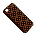 CIRCLES3 BLACK MARBLE & RUSTED METAL Apple iPhone 4/4S Premium Hardshell Case View5