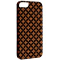 CIRCLES3 BLACK MARBLE & RUSTED METAL Apple iPhone 5 Classic Hardshell Case View2