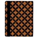 CIRCLES3 BLACK MARBLE & RUSTED METAL Apple iPad 2 Flip Case View3