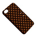 CIRCLES3 BLACK MARBLE & RUSTED METAL Apple iPhone 4/4S Hardshell Case with Stand View5