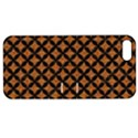 CIRCLES3 BLACK MARBLE & RUSTED METAL Apple iPhone 5 Hardshell Case with Stand View1
