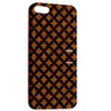 CIRCLES3 BLACK MARBLE & RUSTED METAL Apple iPhone 5 Hardshell Case with Stand View2