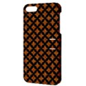 CIRCLES3 BLACK MARBLE & RUSTED METAL Apple iPhone 5 Hardshell Case with Stand View3