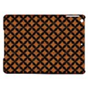CIRCLES3 BLACK MARBLE & RUSTED METAL iPad Air Hardshell Cases View1
