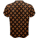 CIRCLES3 BLACK MARBLE & RUSTED METAL Men s Cotton Tee View2
