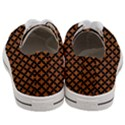CIRCLES3 BLACK MARBLE & RUSTED METAL Women s Low Top Canvas Sneakers View4