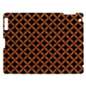 CIRCLES3 BLACK MARBLE & RUSTED METAL (R) Apple iPad 3/4 Hardshell Case View1