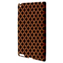 CIRCLES3 BLACK MARBLE & RUSTED METAL (R) Apple iPad 3/4 Hardshell Case View3