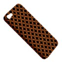 CIRCLES3 BLACK MARBLE & RUSTED METAL (R) Apple iPhone 5 Hardshell Case View5