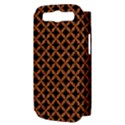 CIRCLES3 BLACK MARBLE & RUSTED METAL (R) Samsung Galaxy S III Hardshell Case (PC+Silicone) View3