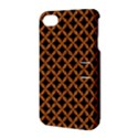 CIRCLES3 BLACK MARBLE & RUSTED METAL (R) Apple iPhone 4/4S Hardshell Case with Stand View3