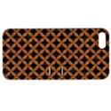 CIRCLES3 BLACK MARBLE & RUSTED METAL (R) Apple iPhone 5 Hardshell Case with Stand View1