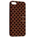 CIRCLES3 BLACK MARBLE & RUSTED METAL (R) Apple iPhone 5 Hardshell Case with Stand View2