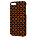 CIRCLES3 BLACK MARBLE & RUSTED METAL (R) Apple iPhone 5 Hardshell Case with Stand View3