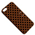 CIRCLES3 BLACK MARBLE & RUSTED METAL (R) Apple iPhone 5 Hardshell Case with Stand View5
